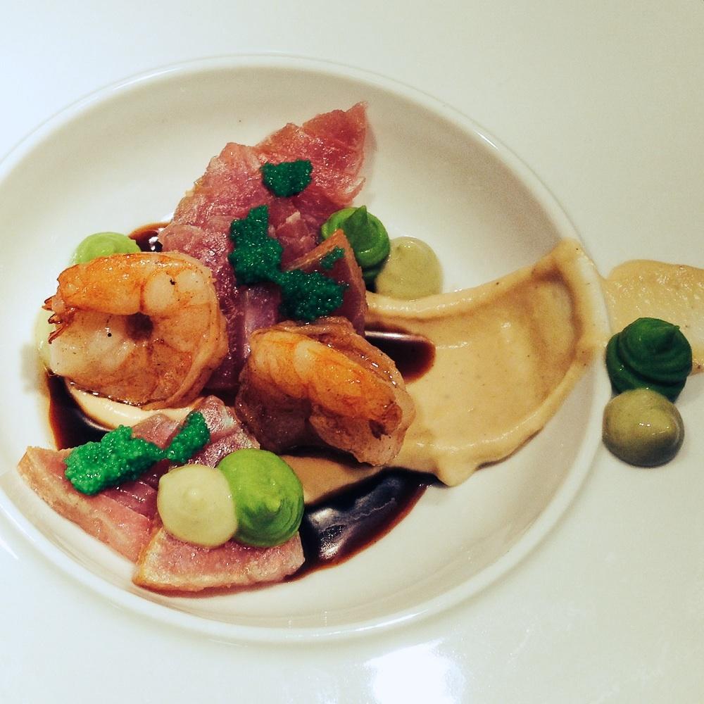 Lila Nashorn Restaurant Hamburg Ottensen Gericht