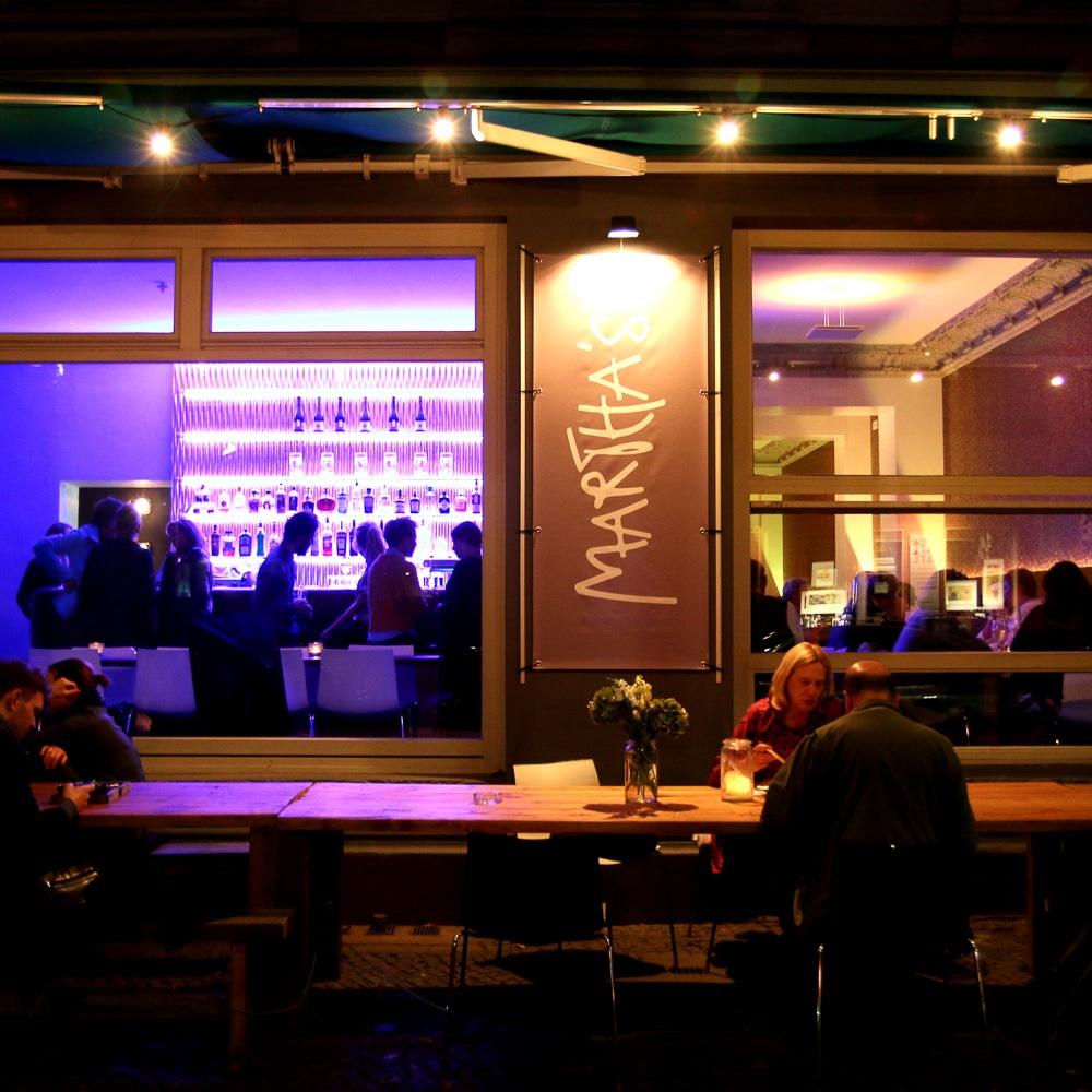 Marthas Restaurant Berlin Grunewaldstraße Schöneberg Außenansicht