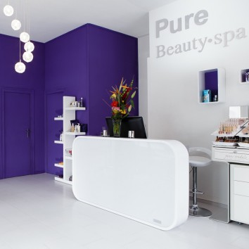 Pure Beauty Spa Zürich Empfang