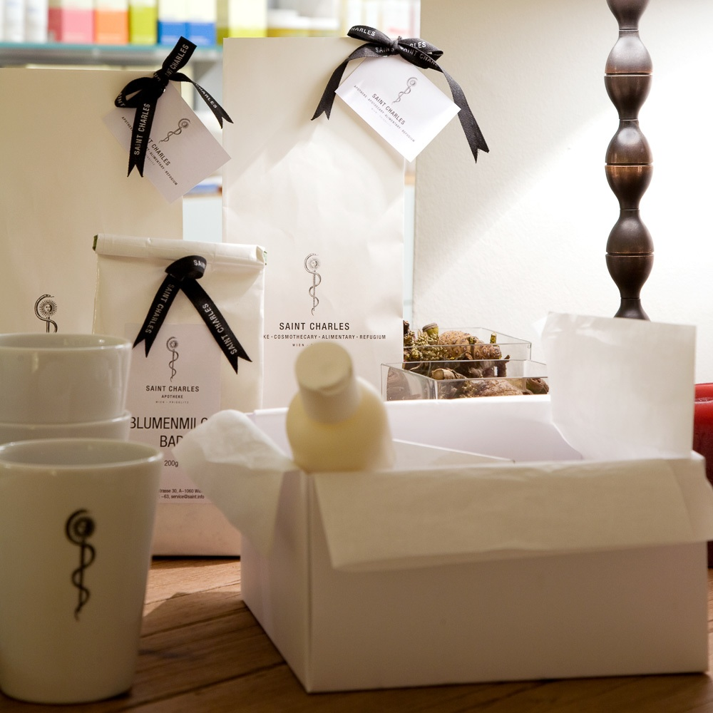 Cosmothecary Spa Wien Saint Charles Produkte