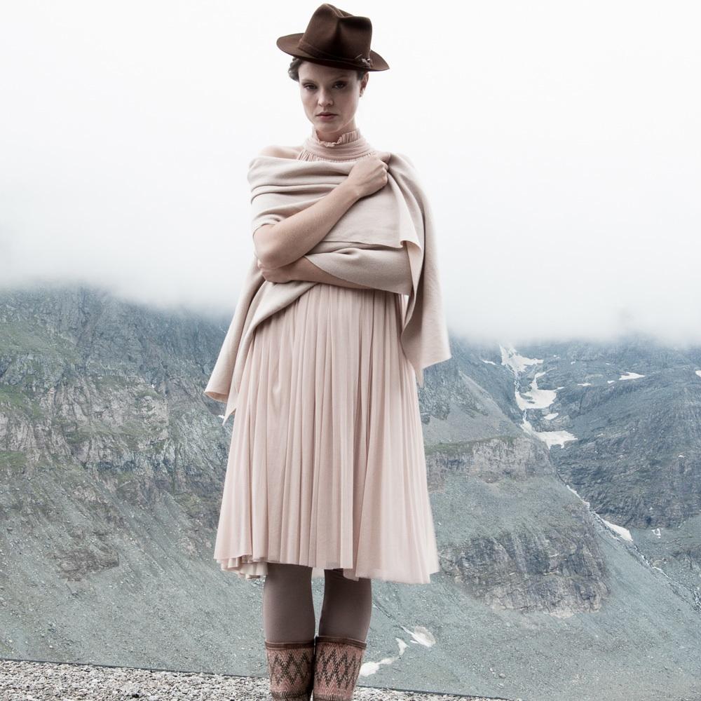 Elfenkleid Brautmode Mode Wien rosa Kleid