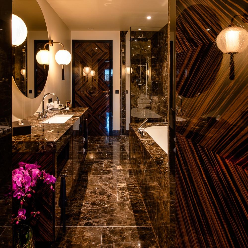 Lamee Hotel Wien Zentrum Badezimmer