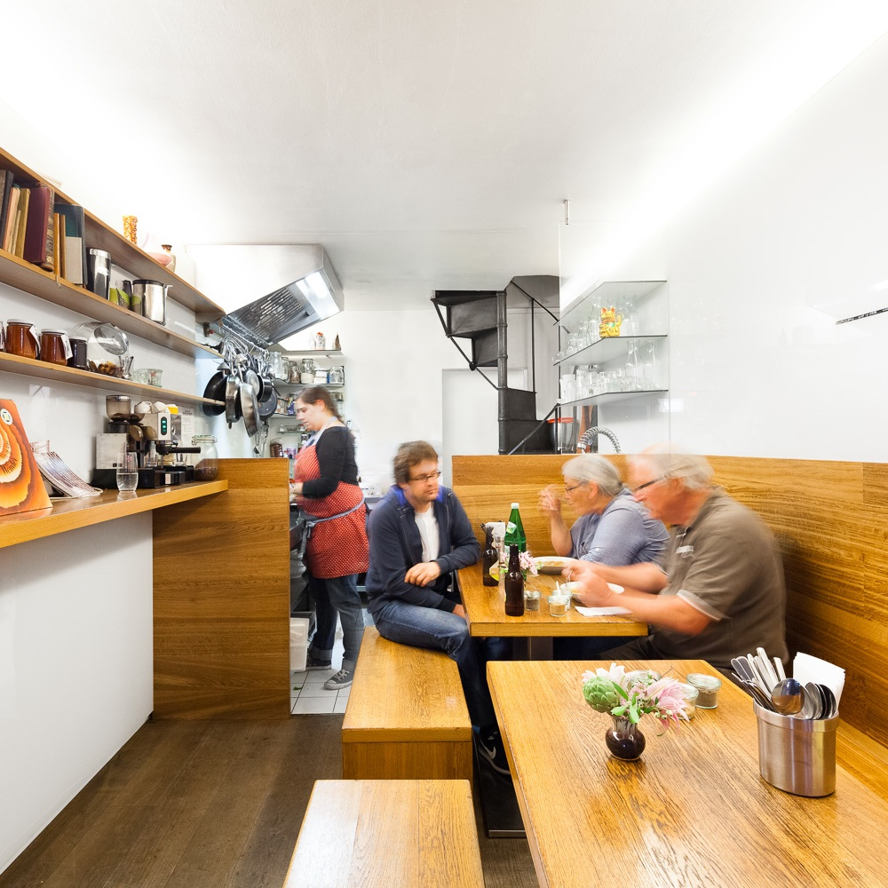 Mamsell Restaurant und Kochschule Wien Interieur
