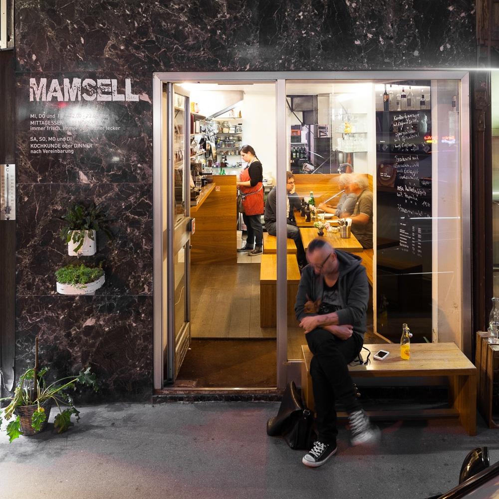Mamsell Restaurant und Kochschule Wien Außenansicht