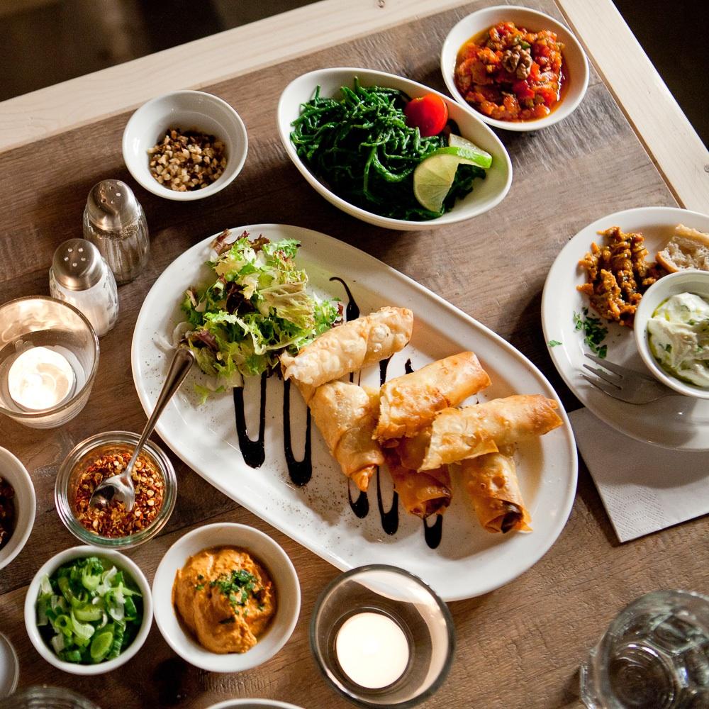 Osmans Töchter Türkisches Restaurant Berlin verschiedene Speisen
