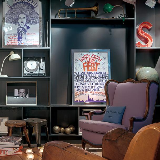 Ruby Sofie Hotel Wien Lounge