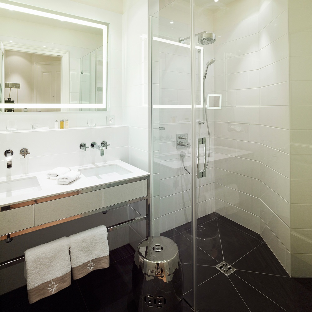 Sans Souci Hotel Wien Dusche