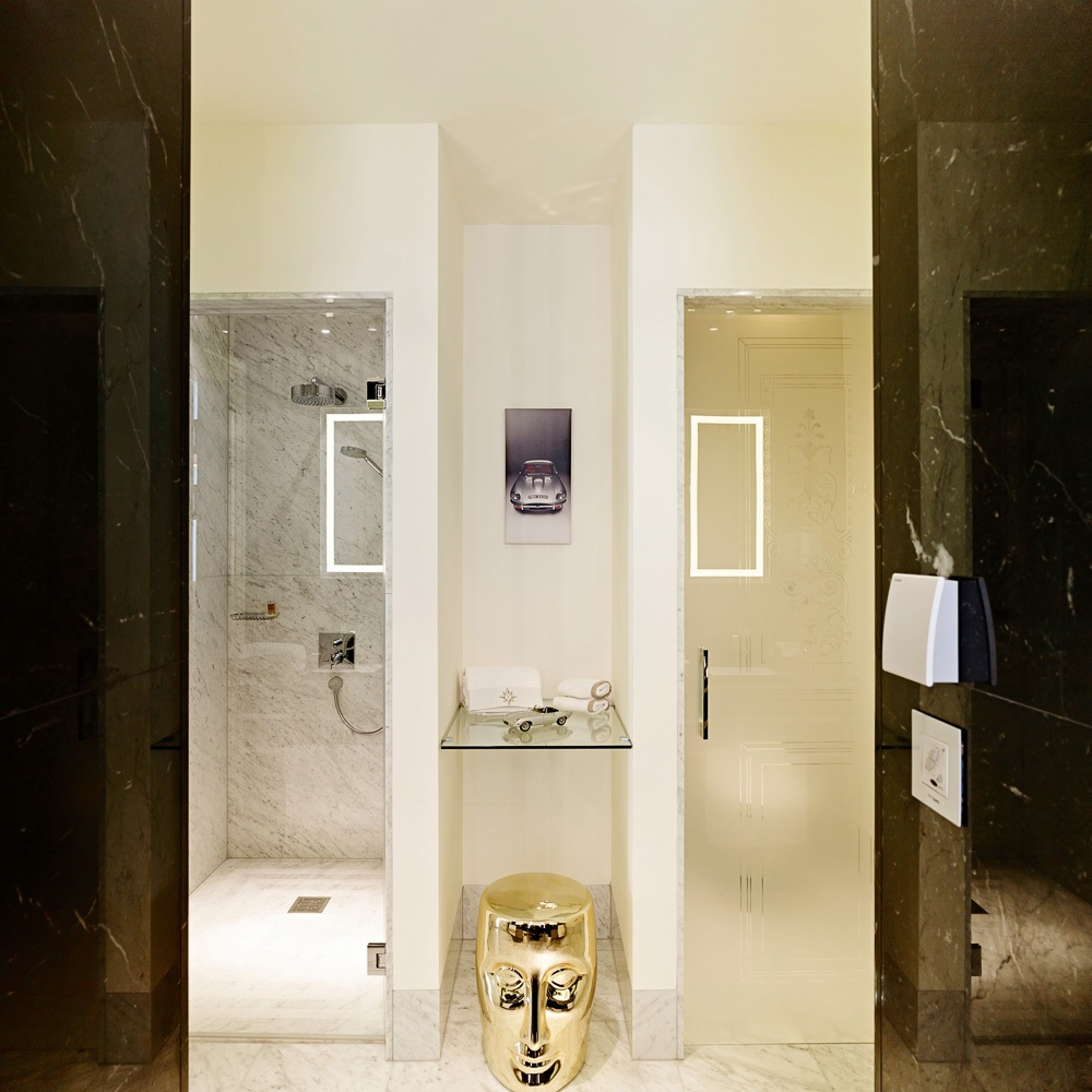 Sans Souci Hotel Wien Badezimmer