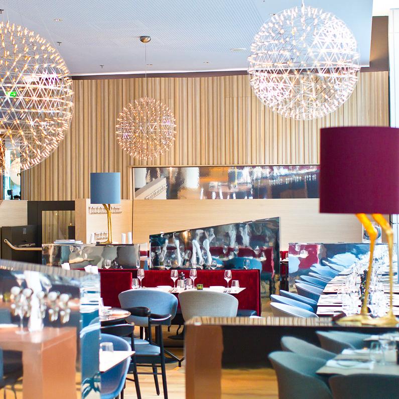 Scandic Hamburg Emprop City Hotel Restaurant Einrichtung