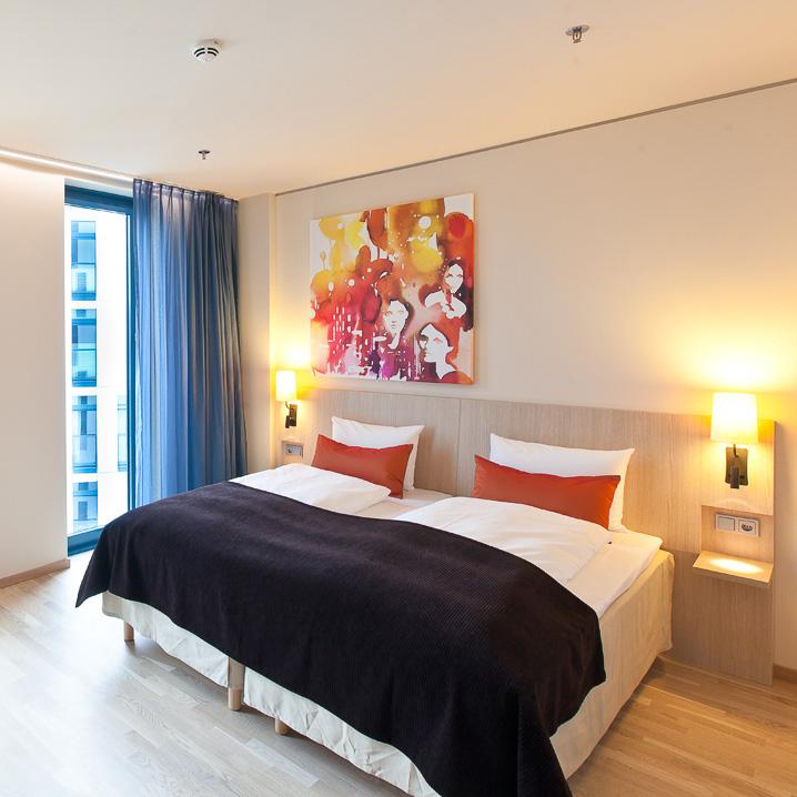 Scandic Hamburg Emprop City Hotel Doppelzimmer