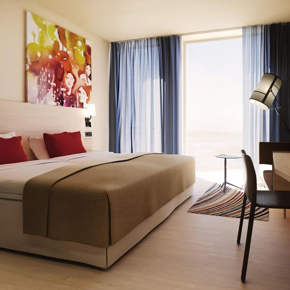 Scandic Hamburg Emprop City Hotel Zimmer
