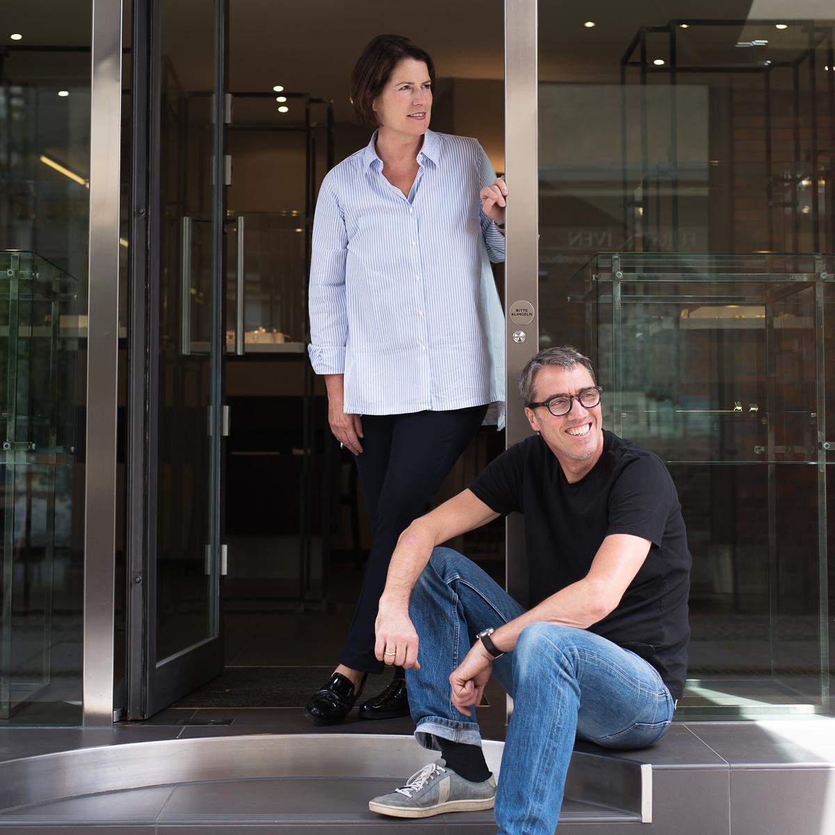 Sabine und Andreas Treykorn von der Galerie Treykorn