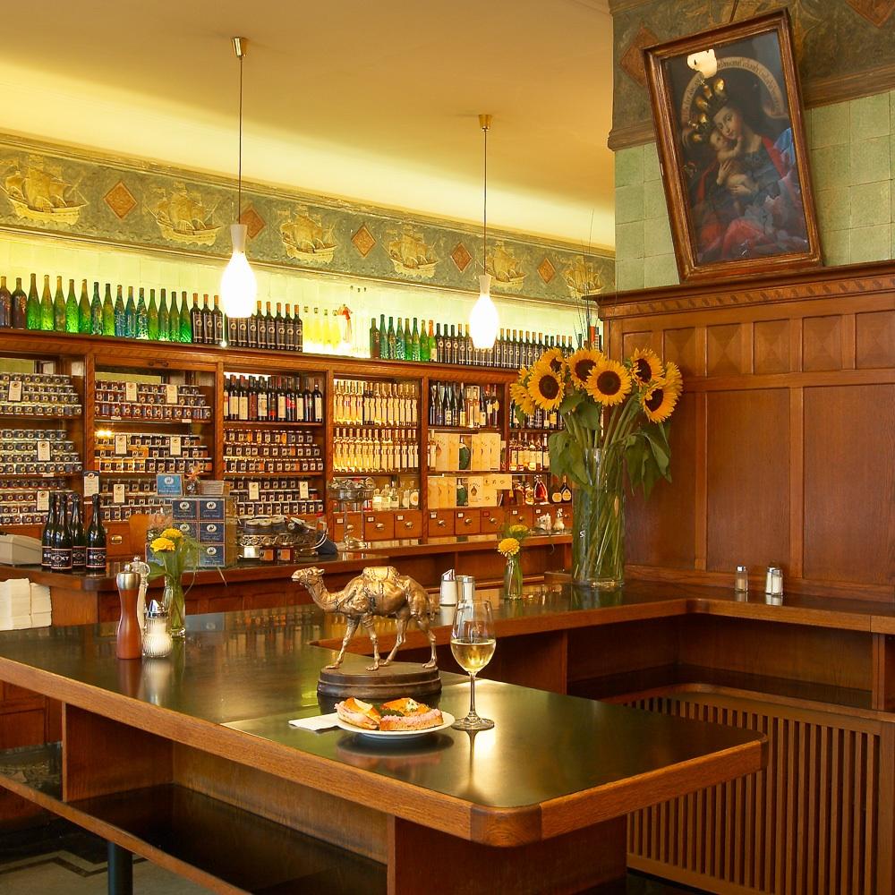 Restaurant Schwarzes Kameel Wien Theke