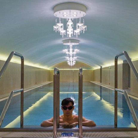 Spa Club Sans Souci Hotel Wien Pool