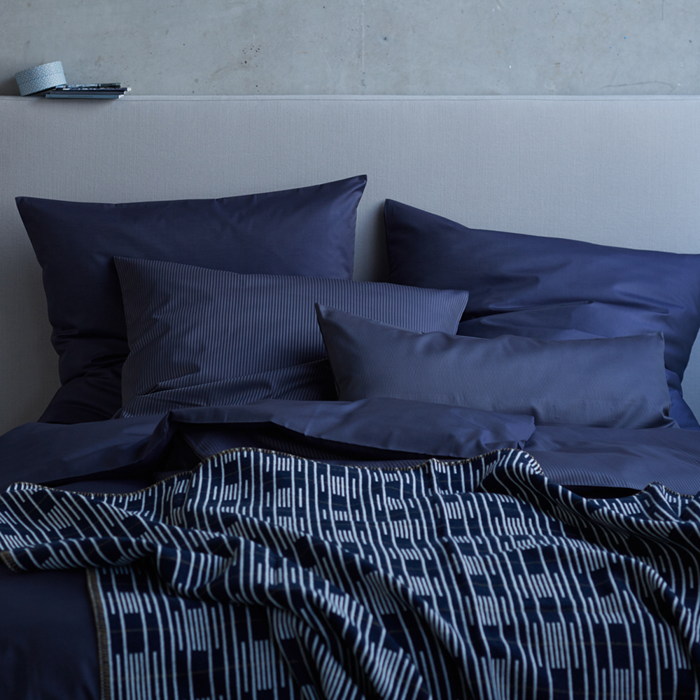 Stoffkontor Bettwäsche Kollektion 2015 dunkelblau