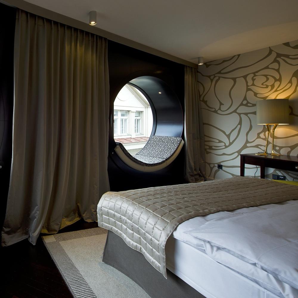 Topazz hotel Wien Zentrum Zimmer mit Doppelbett
