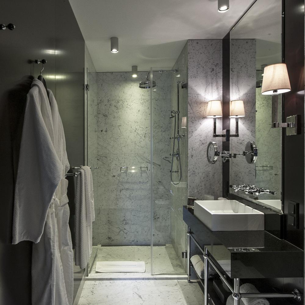 Topazz hotel Wien Zentrum Badezimmer