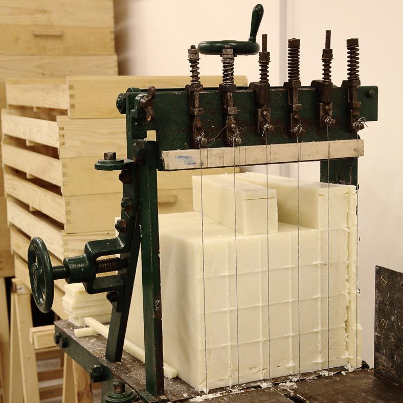 Wiener Seifen Produktion und Shop Zuschnitt