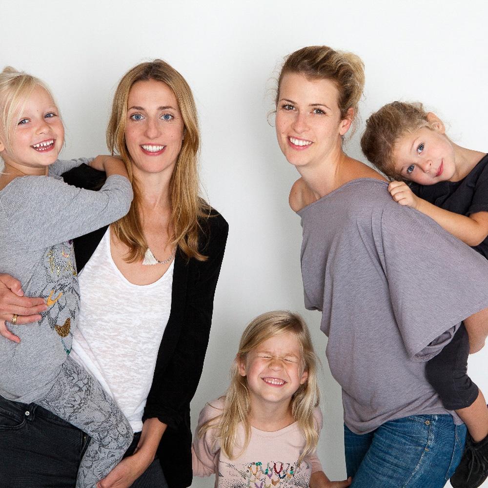 Der kleine Salon Kindermode Wien Inhaberinnen mit Kindern