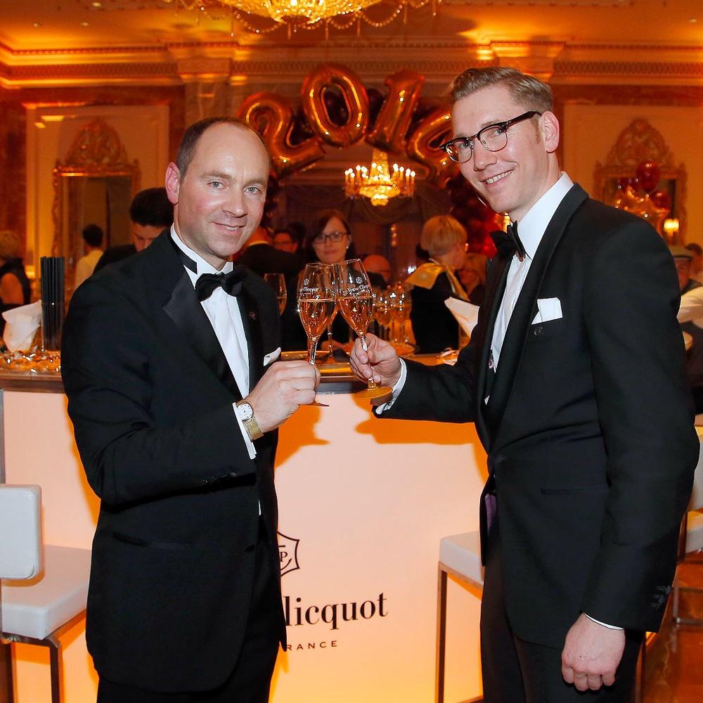 Silvester Party im Regent Hotel Champagner