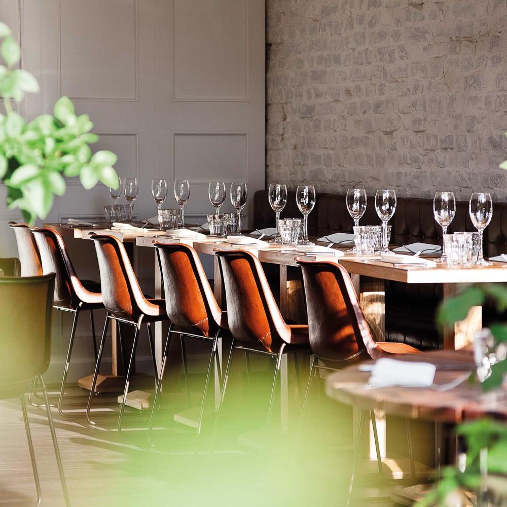 Spindler Restaurant Berlin Kreuzberg Einrichtung