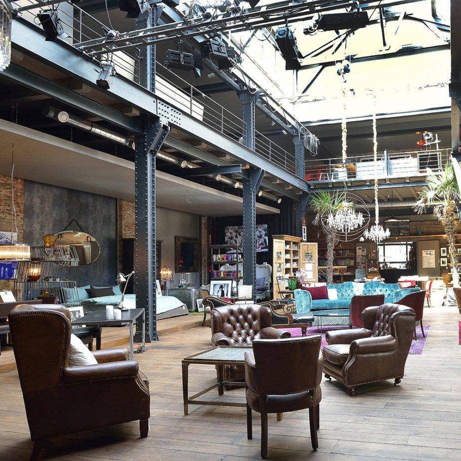 The Box Concept Store Hamburg Sessel
