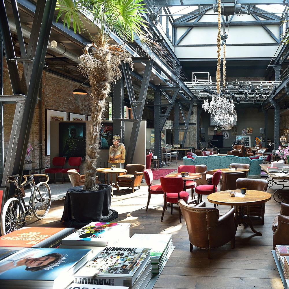 The Box Concept Store Hamburg Coffeetable Books