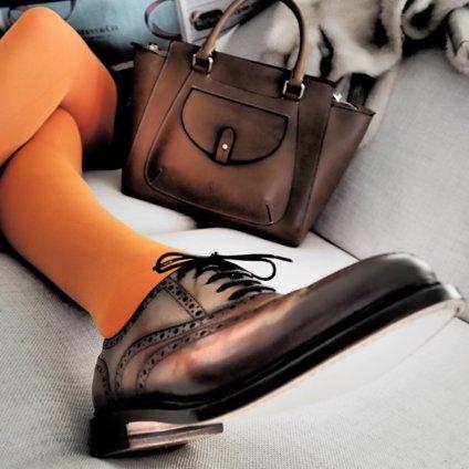 Benci Brothers Zürich Schuhe aus braunem Leder