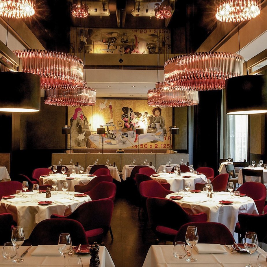 Le Faubourg Restaurant Sofitel Hotel Berlin Interieur