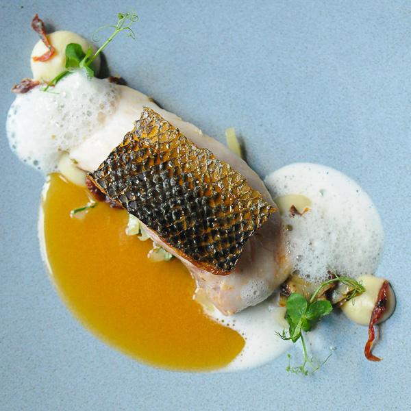 Le Faubourg Restaurant Sofitel Hotel Berlin Fischfilet