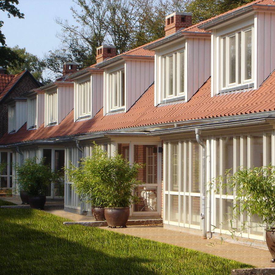 Landhaus Jenischpark Apartments Flottbeck Außenansicht