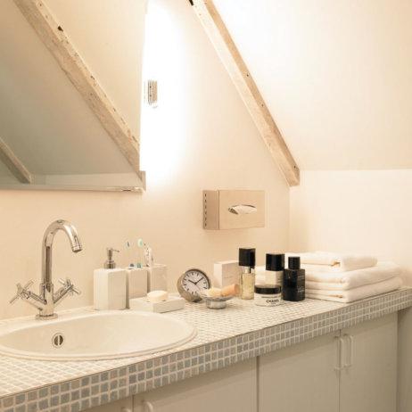 Landhaus Jenischpark Apartments Flottbeck Badezimmer