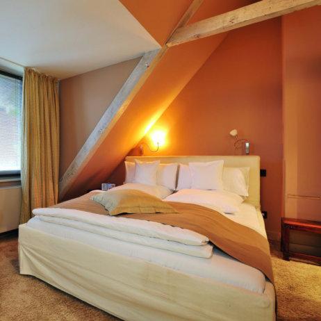 Landhaus Jenischpark Apartments Flottbeck Schlafzimmer
