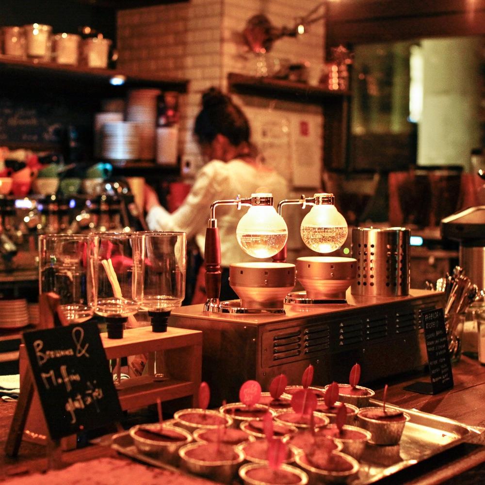 Milchbar Delikatessen Restaurant Zürich Bar
