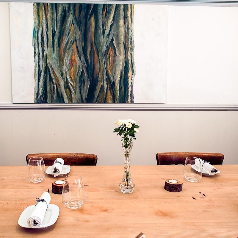 Nachtjäger Restaurant Zürich gedeckter Tisch