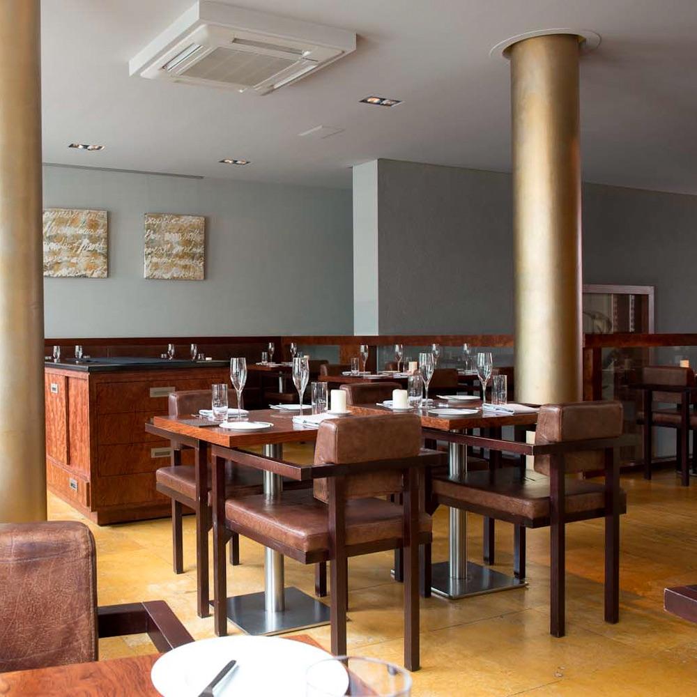 Rutz Restaurant Berlin Mitte Interieur