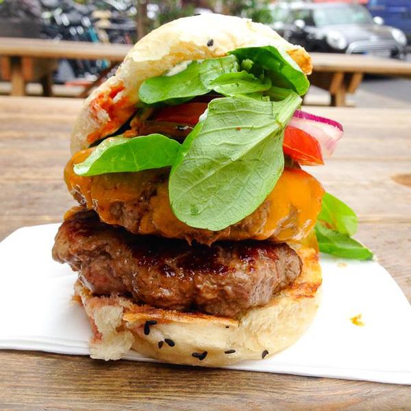 Shiso Burger Berlin Mitte asiatische Burger