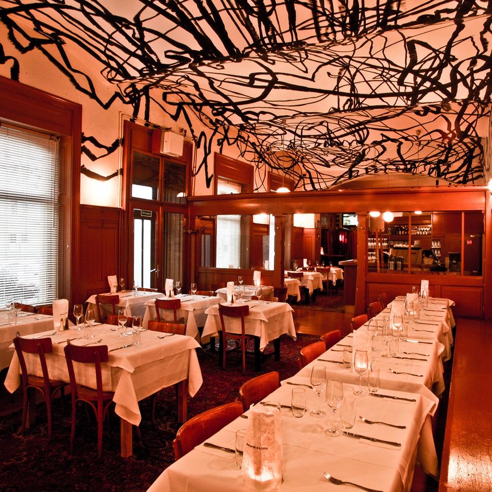 Skopik und Lohn Restaurant Wien Gastraum