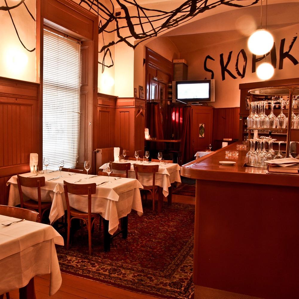 Skopik und Lohn Restaurant Wien Einrichtung