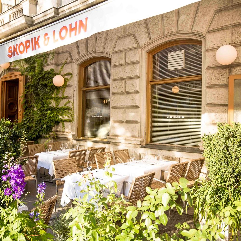 Skopik und Lohn Restaurant Wien Außenansicht