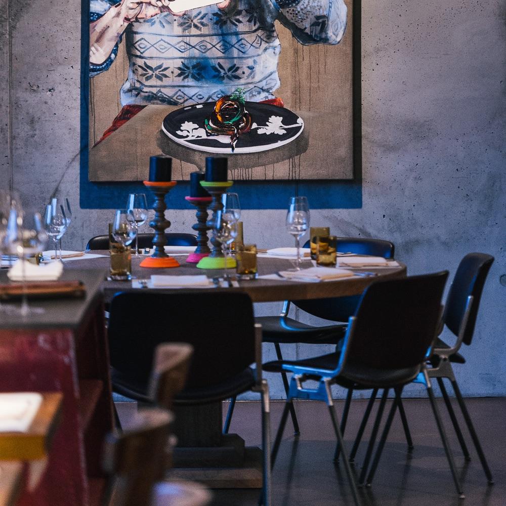 Studio Tim Raue Restaurant Berlin Interieur