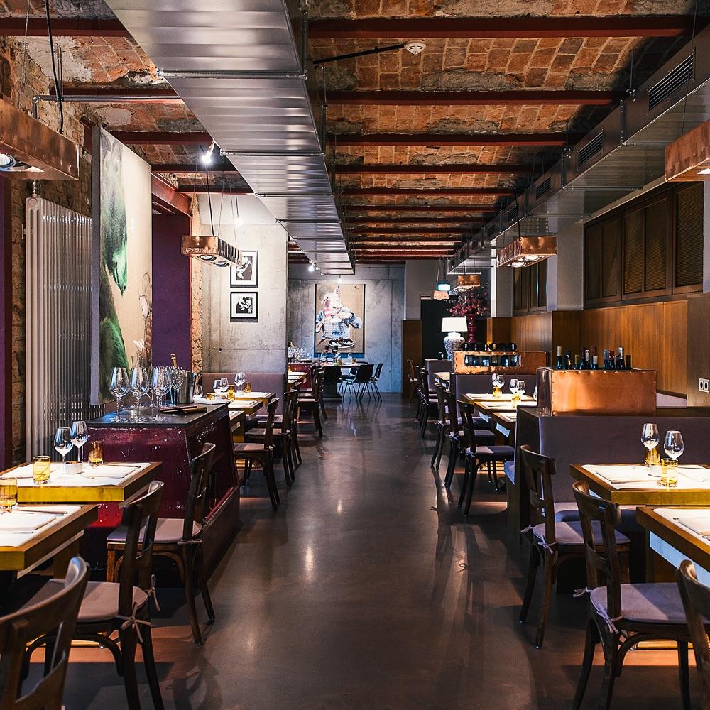 Studio Tim Raue Restaurant Berlin Tische