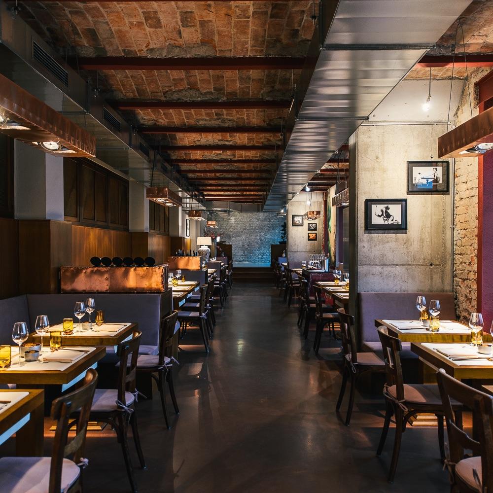 Studio Tim Raue Restaurant Berlin Gastraum