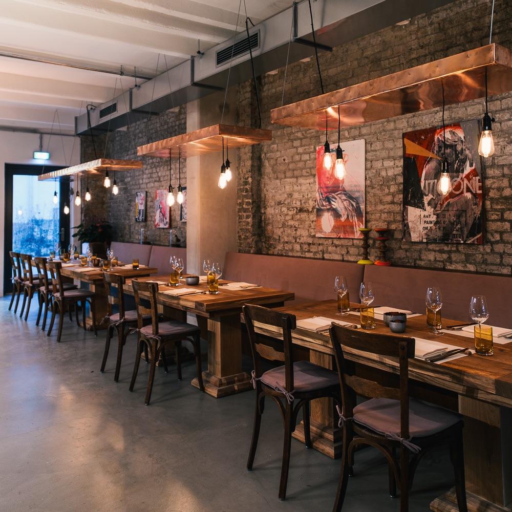Studio Tim Raue Restaurant Berlin Einrichtung