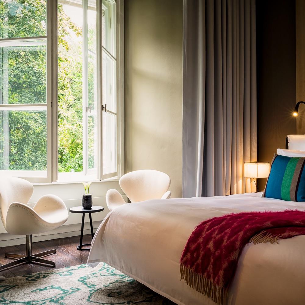 Stue Hotel Berlin Tiergarten Zimmer mit Doppelbett
