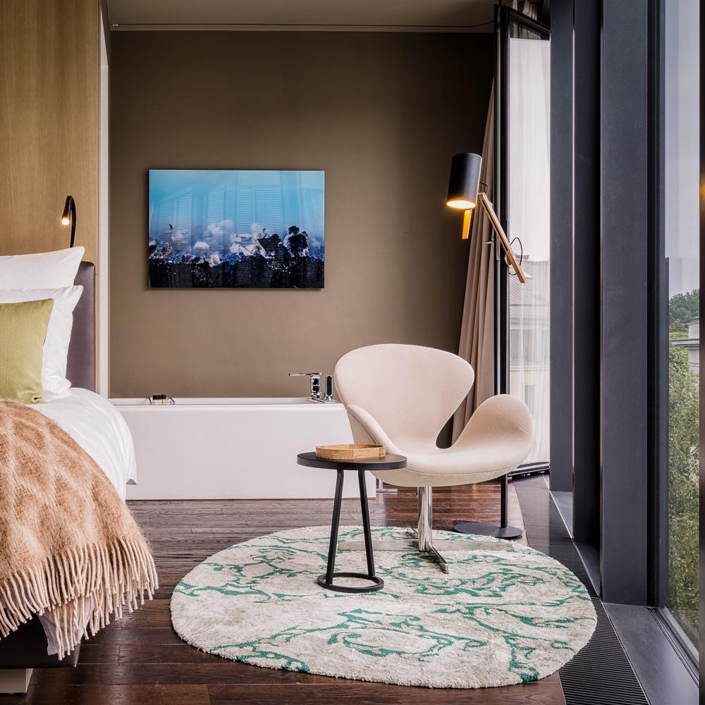 Stue Hotel Berlin Tiergarten Zimmer mit Badewanne