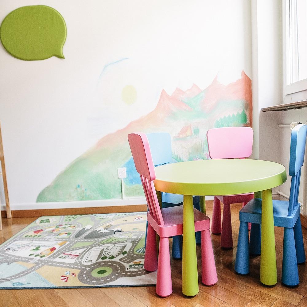 Wordculture Sprachschule Übersetzungen Zürich Kindertisch