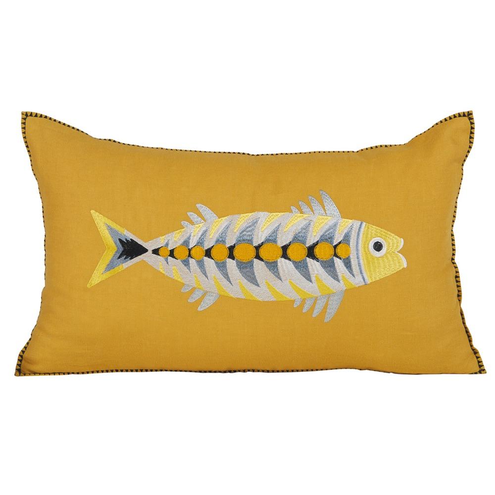 Dopo Domani Möbel Online Shop Kissen mit Fischmotiv