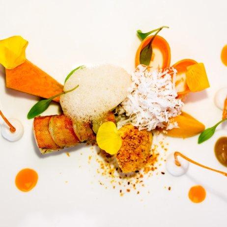 First Floor Michelin Stern Restaurant Berlin Hummer