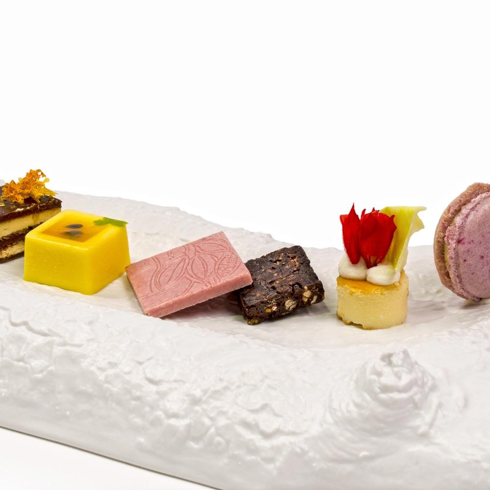 First Floor Michelin Stern Restaurant Berlin Dessert